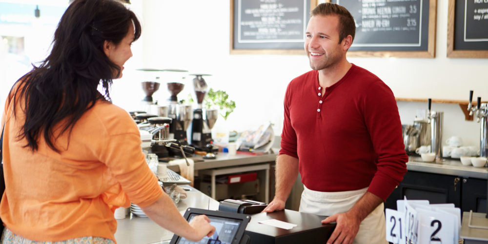 Retail Store CoffeeShop Cashier POS Register