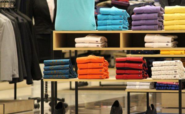 Retail Store Shelves Tommy Hilfiger Brand Retailer