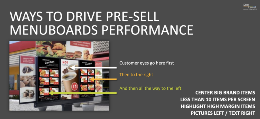 QSR tips to utilize digital menu boards to improve drive-thru throughput and speed of service
