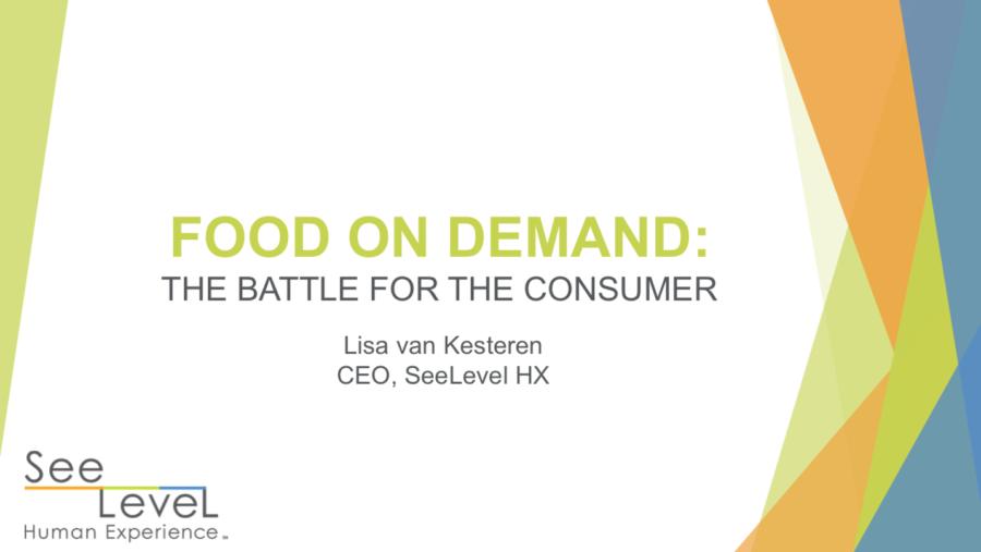 2019 Food on Demand Presentation by SeeLevel HX