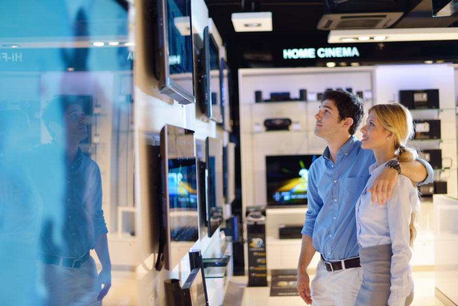 improve the customer experience with an engaging in-store experience
