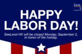 Mystery shopping company SeeLevel HX is closed for Labor Day