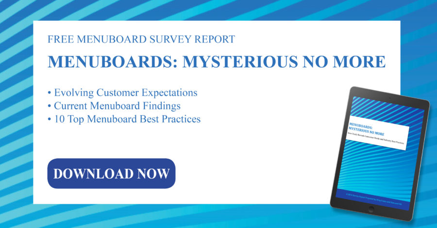 Download the 2019 Menuboard Survey Report