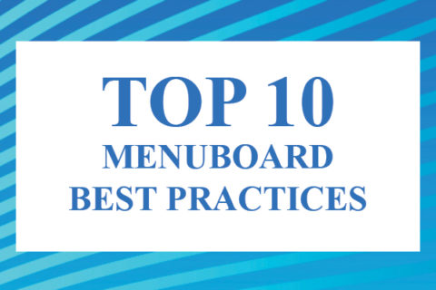 top 10 menuboard best practices