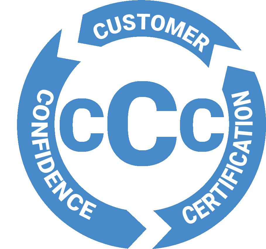 Customer Confidence Certification Logo