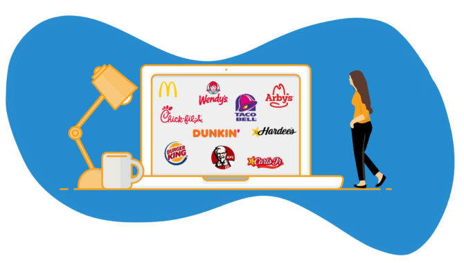 Brands measured in the 2020 SeeLevel HX Annual Drive-Thru Study